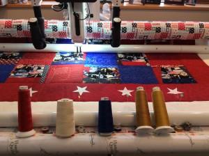 Custom quilt borders