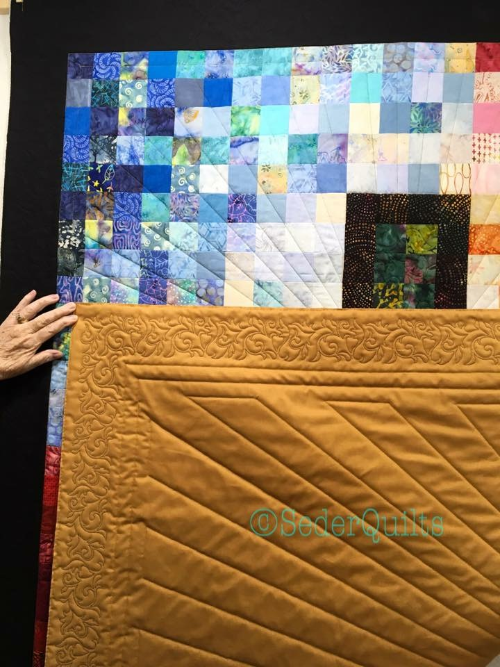 Cross Of Many Squares Quilt Free Pattern And Videos Sederquilts