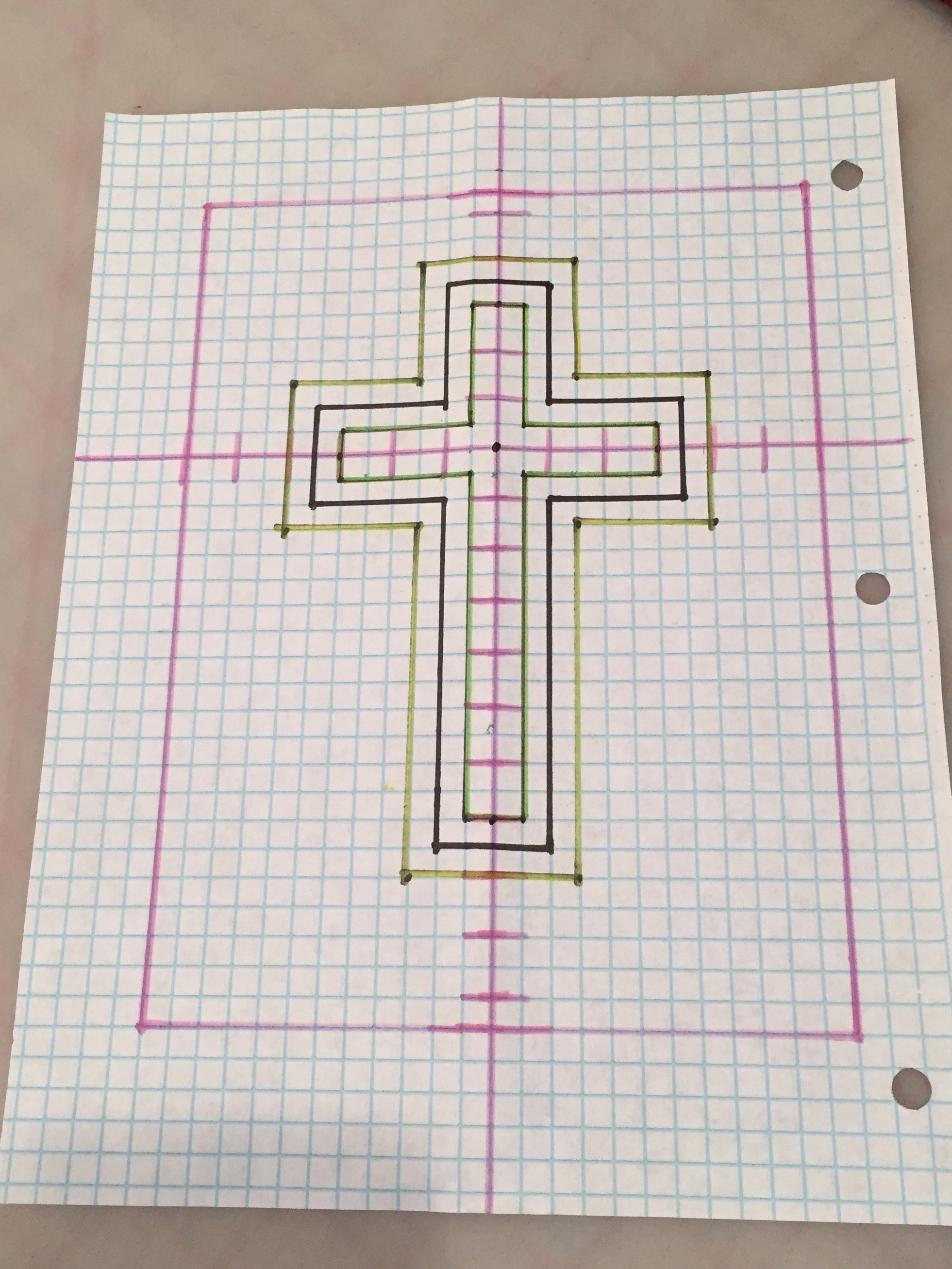 Cross Of Many Squares Quilt Free Pattern And Videos